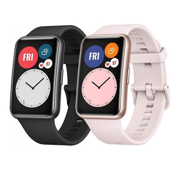 【贈原廠禮盒3件組+鋼保】HUAWEI WATCH Fit 智慧手錶