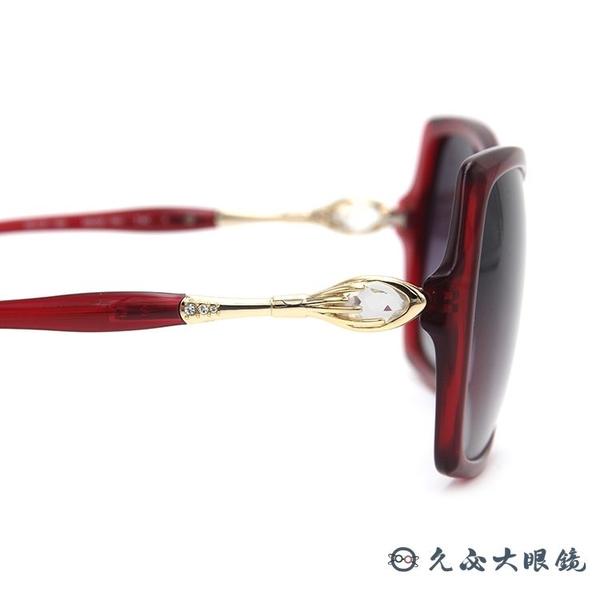HELEN KELLER 林志玲代言 H8528 P41 (透紅) 偏光太陽眼鏡 久必大眼鏡