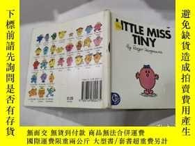 二手書博民逛書店little罕見miss tiny :小蒂尼小姐5Y212829