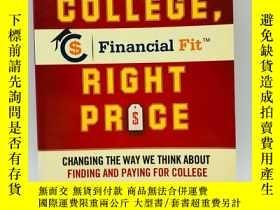 二手書博民逛書店Right罕見College, Right Price: The