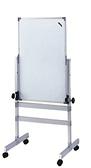 【環保傢俱】鋁合金雙面磁性白板架125-04(DIY-自組)