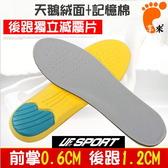 [UF-72] UF-XD659(2入組)減震緩衝高壓氣墊記憶鞋墊