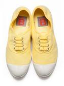 【BENSIMON】經典綁帶款(女)-亮黃色