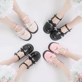 日系洛麗塔lolita厚底女鞋可愛蘿莉淺口圓頭娃娃鞋原宿軟妹小皮鞋