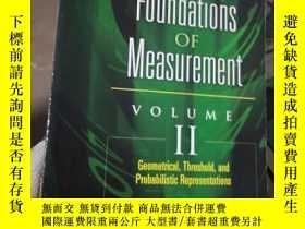二手書博民逛書店Foundations罕見of Measurement Volu