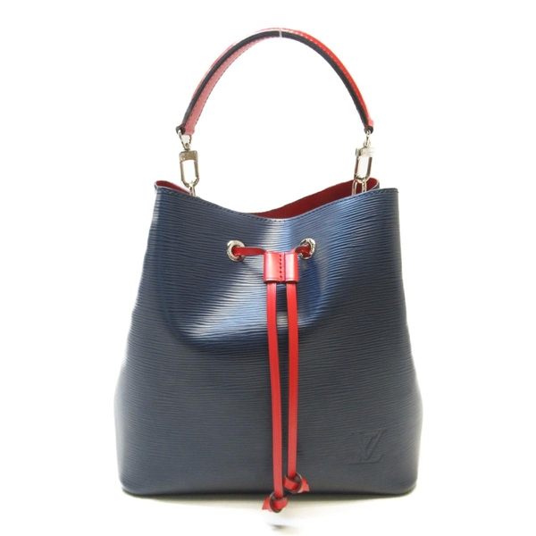 LOUIS VUITTON LV 路易威登 藍色水波紋EPI水桶包 NeoNoe Bucket Bag M54367 BRAND OFF