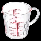 玻璃刻度量杯牛奶杯料理杯可微波CMJW 琉璃美衣