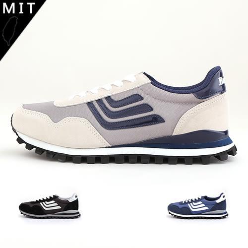 男款 牛頭牌 Newbuffalo 綁帶款 真皮反毛皮 慢跑鞋 走路鞋 運動鞋 MIT製造 59鞋廊