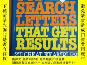 二手書博民逛書店JOB罕見SEARCH LETTERS THAT GET RES
