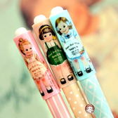 歐美復古洋娃娃女孩中性筆