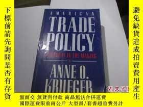 二手書博民逛書店american罕見trade policy11905 anne
