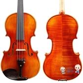小提琴 民間藝人手工實木虎紋考級成人演奏樂器M06初學者兒童小提琴T 多色 雙12提前購