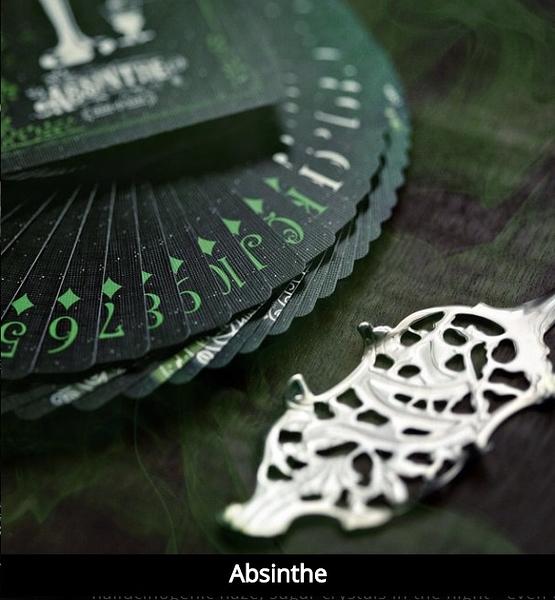 【USPCC 撲克】撲克牌 Absinthe playing cards V1 稀有