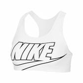 Nike 運動內衣 Swoosh Bra 灰 黑 女款 運動 中強度支撐 【ACS】 BV3644-100