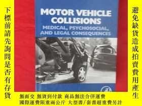 二手書博民逛書店Motor罕見Vehicle Collisions: Medical, Psychosocial, and Leg