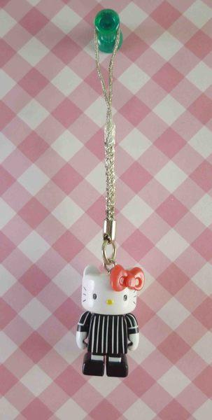 【震撼精品百貨】Hello Kitty 凱蒂貓~樂高手機吊飾-黑白西裝