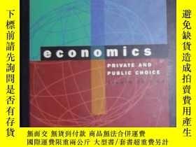 二手書博民逛書店英文原版罕見Economics: Private and Pub