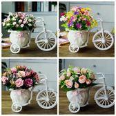 【優選】客廳絹花干花束塑料假花仿真花車套裝