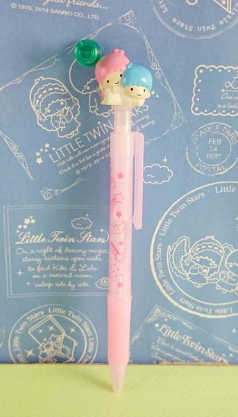 【震撼精品百貨】Little Twin Stars KiKi&LaLa 雙子星小天使~原子筆-粉擁抱