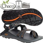Chaco ZCM02_HD14核心灰 男越野運動涼鞋-Z2夾腳款 美國佳扣水陸兩用鞋/沙灘拖鞋/織帶運動鞋