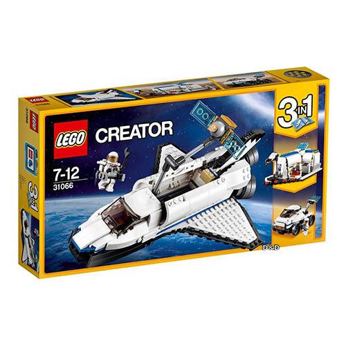 樂高積木 LEGO《 LT31066 》創意大師 Creator 系列 - 太空梭探險家╭★ JOYBUS玩具百貨