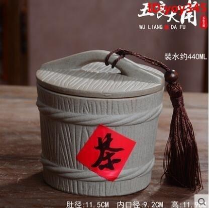 促銷 陶瓷米缸家用10斤20斤30裝仿實木麵粉桶防潮防蟲密封儲物罐
