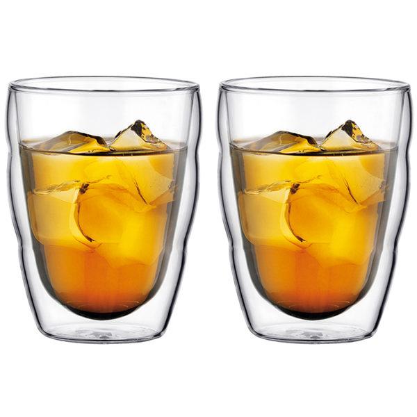 丹麥Bodum-PILATUS雙層玻璃杯250CC(一盒二入)