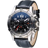 梭曼 Revue Thommen XLARGE系列先鋒機械腕錶 16075.6534