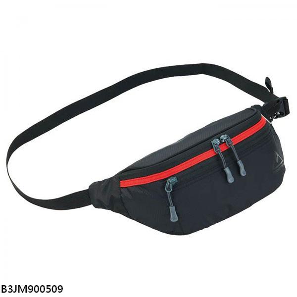 MIZUNO 腰包 休閒 慢跑 健身 登山 黑 【運動世界】B3JM900509