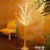 白樺樹LED彩燈ins網紅臥室布置浪漫房間裝飾燈節日發光圣誕樹裝飾  9號潮人館