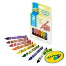 美國Crayola繪兒樂 幼兒可水洗三角筆桿蠟筆8色 麗翔親子館