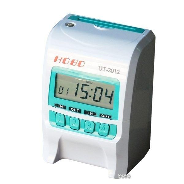 台灣製【送200卡+卡架】HOBO微電腦打卡鐘 UT-2012(同UT-600 ) 四欄位/另售TR-100