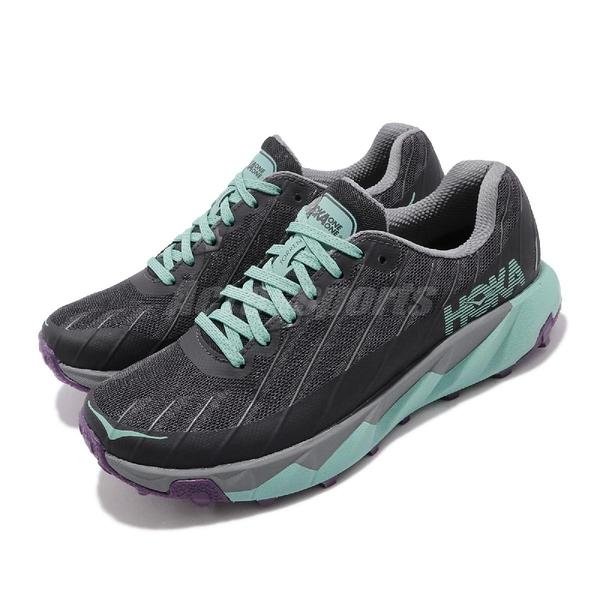 Hoka One One 慢跑鞋 Torrent 綠 灰 女鞋 運動鞋 越野 【PUMP306】 HO1097755NISG