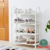 鞋架簡易多層組裝小號鞋架子家用鞋柜收納架【福喜行】