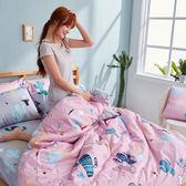 床包兩用被組 / 雙人【OH!仙人掌-兩色可選】含兩件枕套  100%精梳棉  戀家小舖台灣製AAS215