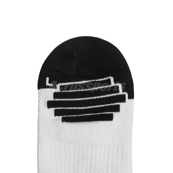 Nike 襪子 LeBron Elite Crew Socks 黑 白 籃球襪 長襪 單雙入【ACS】 SX7864-100