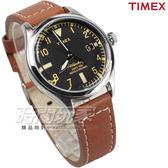 TIMEX 天美時 城市漫遊 數字時刻 皮帶腕錶 咖啡x黑色 TXT2P84600 復刻系列 中性錶 女錶 男錶 日期顯示