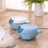 狗狗飲水機自動循環活氧喝水器貓咪飲水碗電動寵物飲水器自動夜光 流行花園