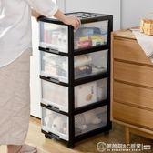 收納箱塑料衣服置物櫃透明整理箱辦公室儲物抽屜式多層收納櫃   (圖拉斯)