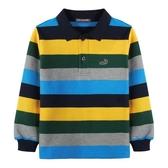『小鱷魚童裝』條紋POLO衫(01號~10號)554130