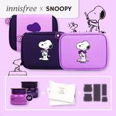 韓國 Innisfree X Snoopy 2018 限量聯名 濟州寒蘭複合滋養 幸運禮盒【櫻桃飾品】【28820】