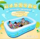 兒童充氣游泳池超大號家用成人戲水池嬰兒小孩洗澡池加厚海洋球池 st3874『美鞋公社』