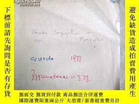 二手書博民逛書店民國1931年外文資料:Sur罕見la structure de