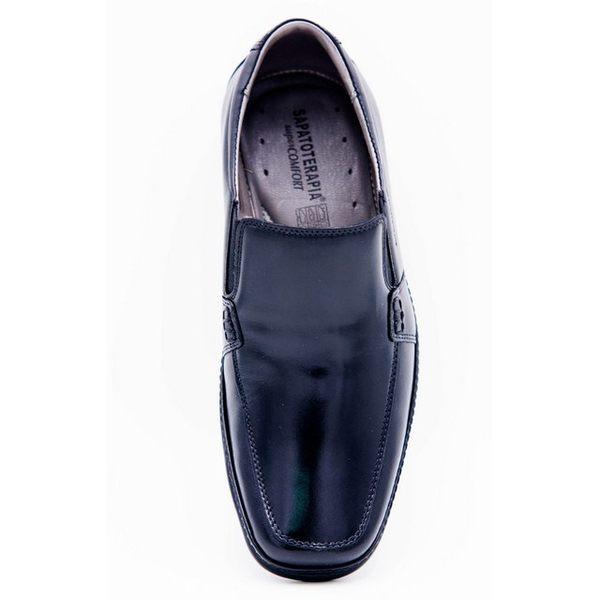 SAPATOTERAPIA 巴西超輕量無綁帶紳士男鞋-黑
