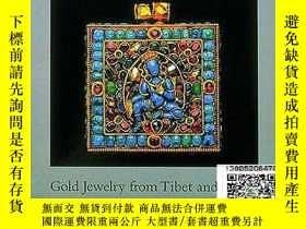 二手書博民逛書店【罕見】西藏和尼泊爾的黃金首飾 GOLD JEWELRY FRO
