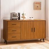 【森可家居】安德里5 尺餐櫃8ZX846 4 文件收納櫃廚房櫃中島碗盤碟櫃木紋 北歐工業風
