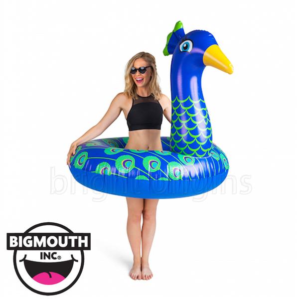 美國 Big Mouth 造型游泳圈 孔雀款