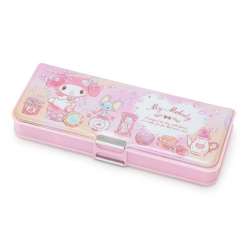 Sanrio 美樂蒂輕量雙面鉛筆盒(幻彩午茶)★funbox★ 248002