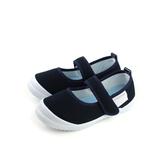 室內鞋 小女生鞋 娃娃鞋 深藍 中童 童鞋 S001 no104