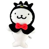 小禮堂 酷企鵝 海豹 絨毛 玩偶 娃娃 玩具 布偶 (S 黑 頑皮海豹) 4549466-06156